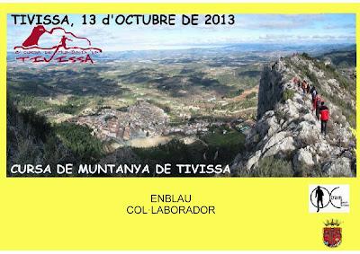 diploma col·laborador de la cursa de Tivissa del 2013