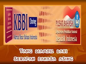 KAMUS BAHASA INDONESIA DARI SERAPAN BAHASA ASING
