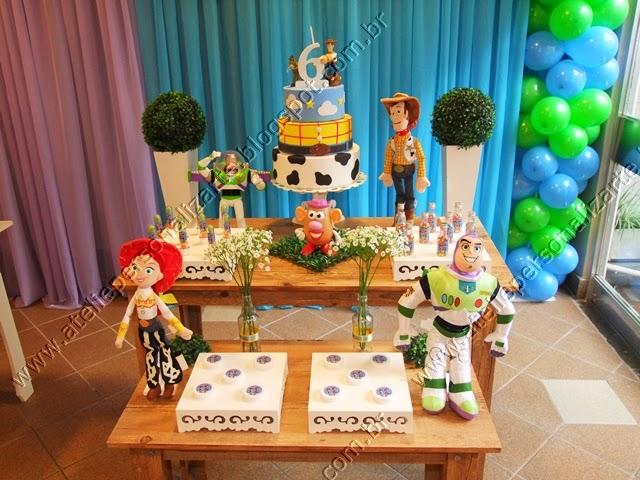 decoracao de festa infantil toy story