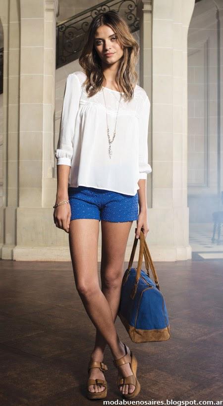 Blusas mujer 2014 Cuesta Blanca moda mujer 2014.