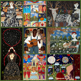 Chris Roberts-Antieau Fabric Creations Collage