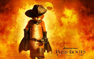 Puss in Boots Poster HD Wallpaper