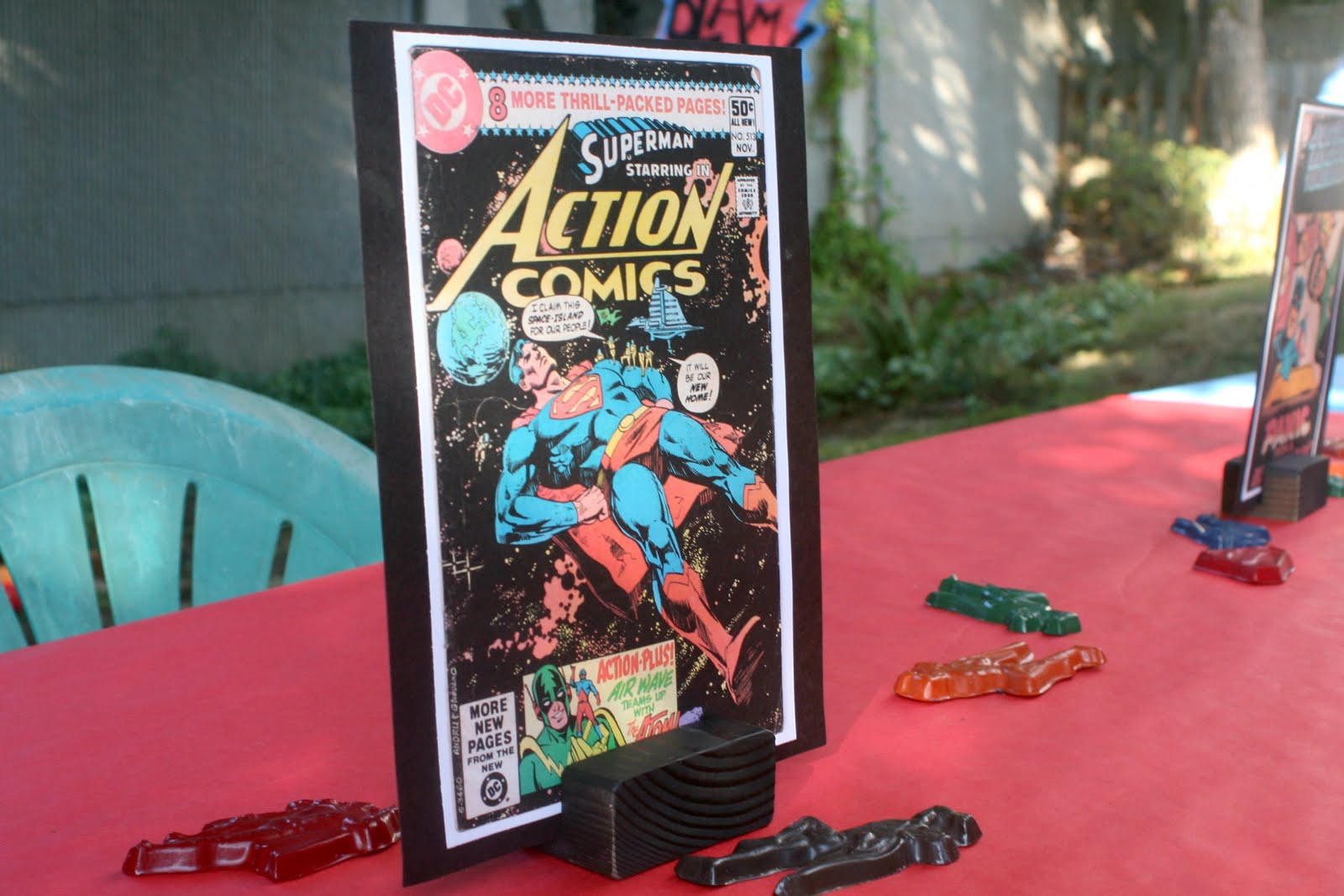 Superhero Party - Games/Activities title=