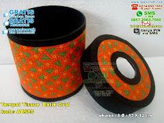 Tempat Tissue Batik Oval