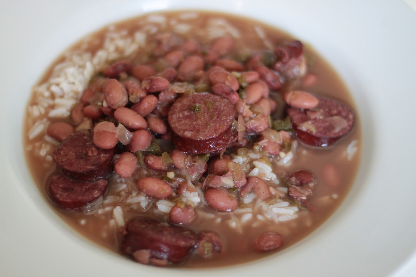 Little Magnolia Kitchen: CROCK POT RED BEANS AND RICE