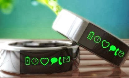 Get Notified by Latest iOS Gadget, Wearable Smart Ring for Smartphone