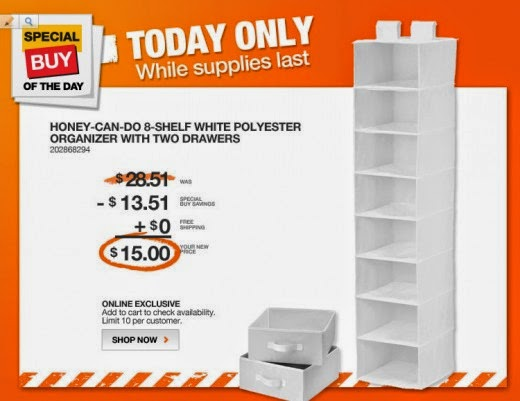 2015 Home Depot Coupon