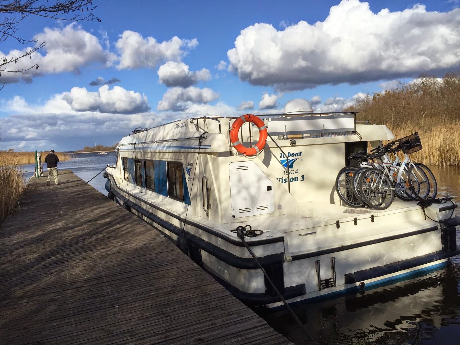 Le boat, hausboortour, mecklenburger seenplatte
