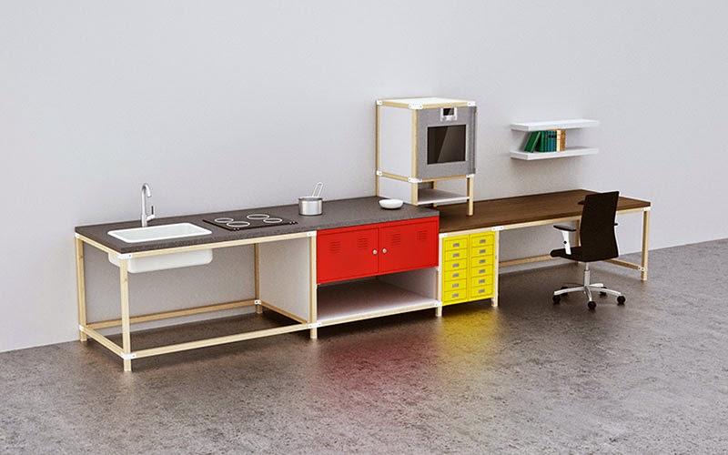 Diy el ingenioso sistema modular ikea hacka para armar t - Cocinas modulares ...
