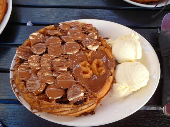 Brownie Heaven Waffle Sprinkles Gelato
