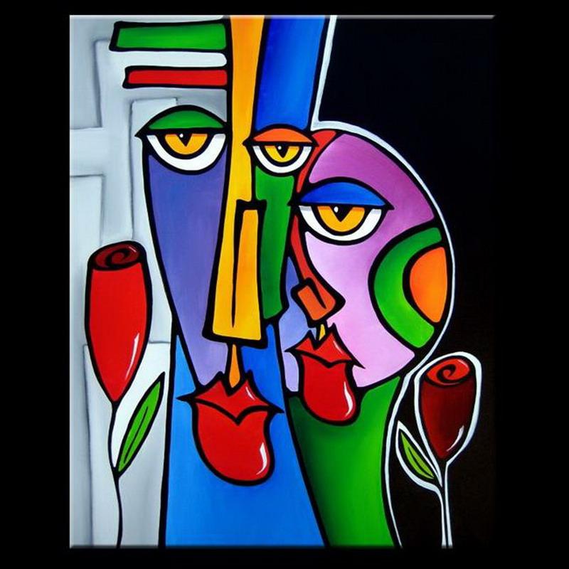 Pintura moderna y fotograf a art stica cuadros - Cuadros modernos con mucho color ...