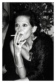 Claudia Cardinale Smoking Cigarettes
