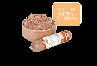 Barf raakaruokinta kana-ateria