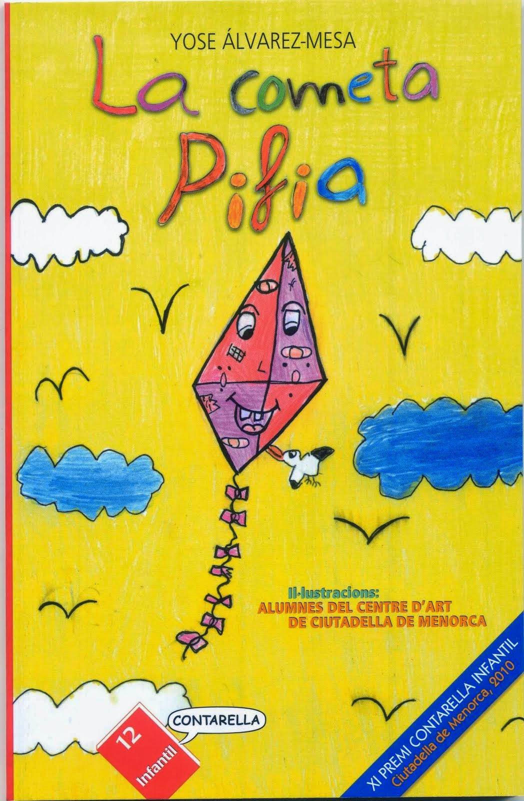 La cometa Pifia (cuento infantil ilustrado)