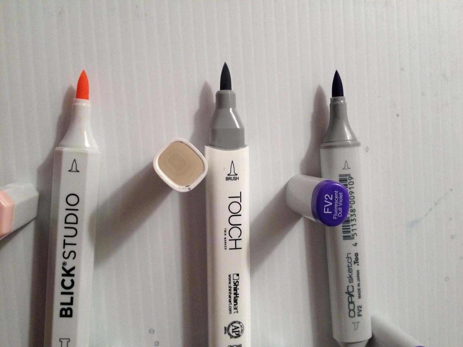 Copic Marker Colorless Blender Tutorial Colorless Blender
