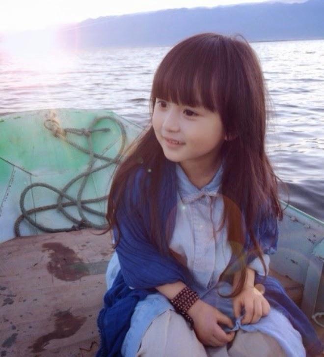 Foto balita yang baru dinobatkan tercantik di dunia Liu Chu Tian