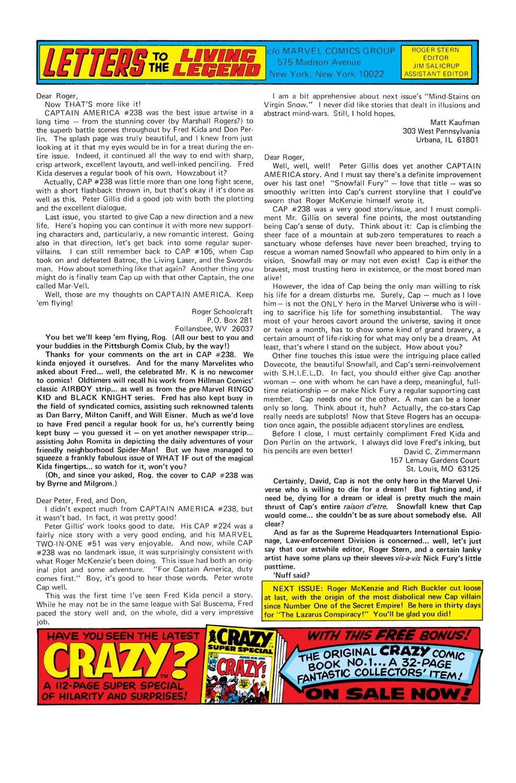 Captain America (1968) Issue #242 #157 - English 19