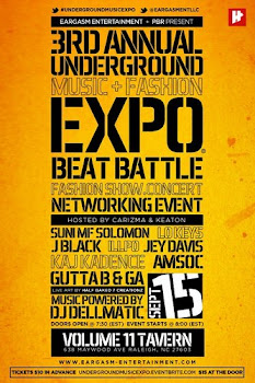 UNDERGROUND MUSIC EXPO X 9/15 X RALEIGH