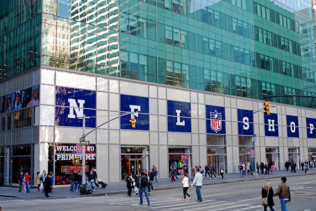 nfl draft live nfl store nyc