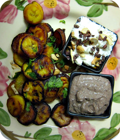 how to make plantains with bananas