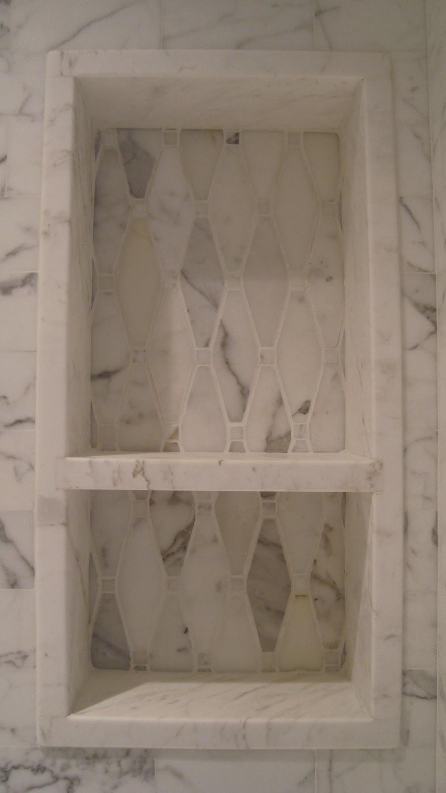 Shower Niche Pattern Change Bath Ideas Juxtapost