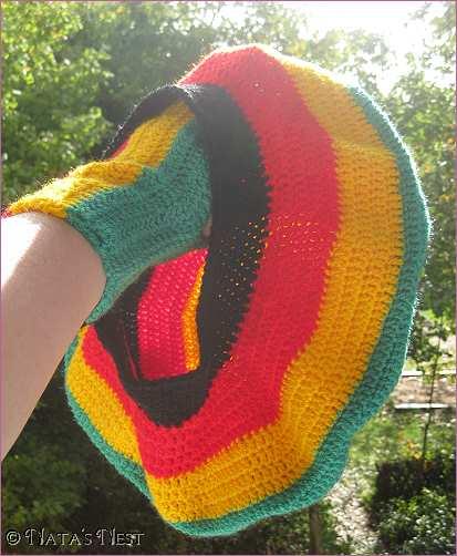Natas Nest: Rasta Hat & Handwarmers - Free Pattern