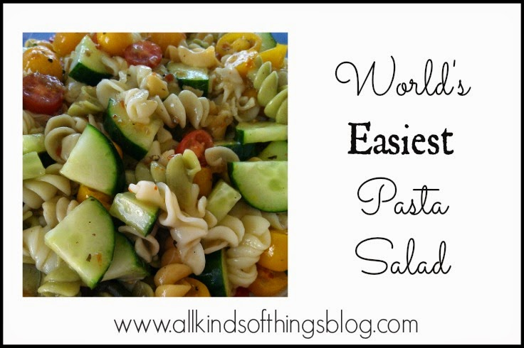Recipe for World's Easiest Pasta Salad