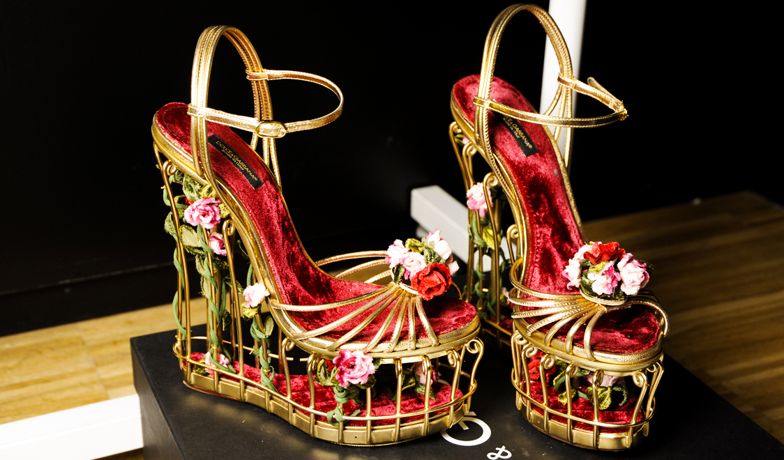 Dolce & Gabbana Fall 2014 || The Shoes || Allegory of Vanity