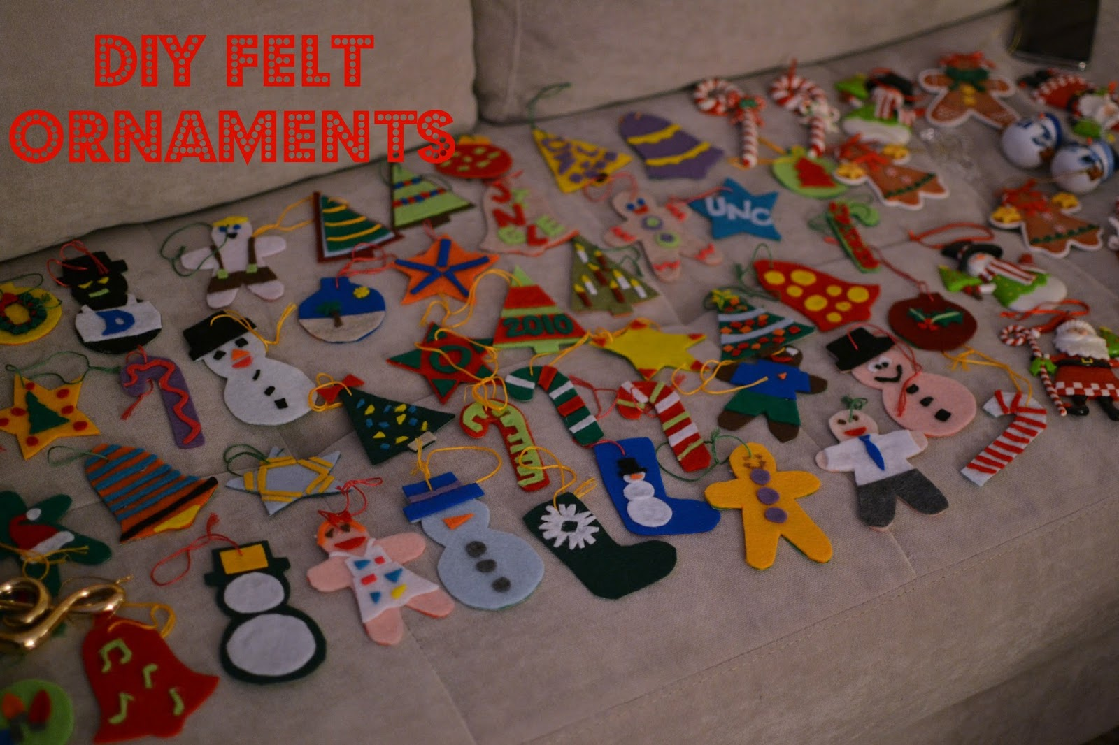 The eibls 2015 we needed some ornaments for our tree these diy felt ornaments were our first diy christmas craft in 2010 we were just out of college and recently solutioingenieria Choice Image