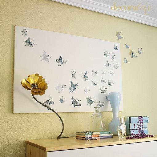 Mariposas para dibujar en la pared imagui - Mariposas para pared ...