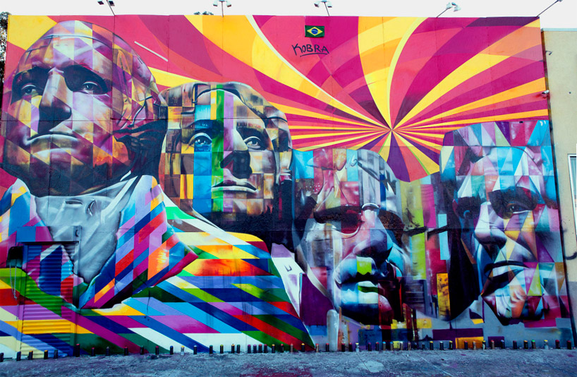 Eduardo kobra brazilian street art for Mural indonesia