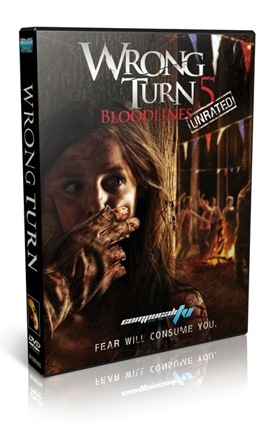 Wrong Turn 5 DVDR NTSC Español Latino Menú Full 2012