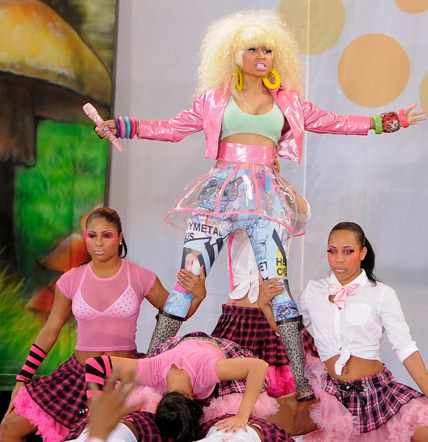 Nicki Minaj Nip Slip GMA