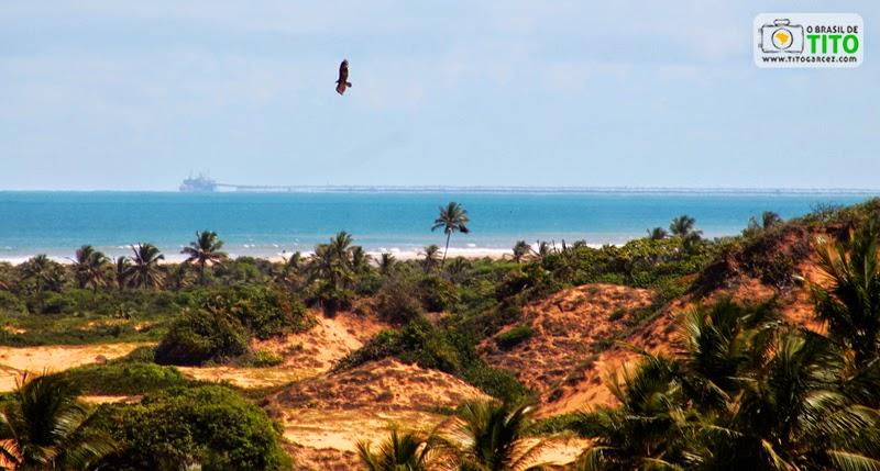 Paisagem do Litoral Norte de Sergipe e Porto de Sergipe