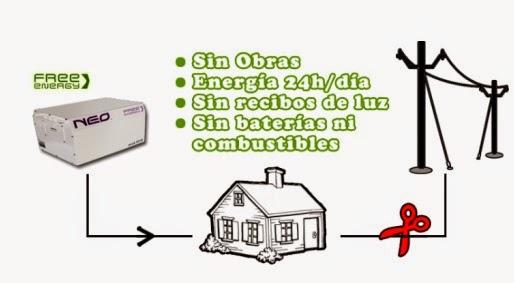 Generador de energia libre
