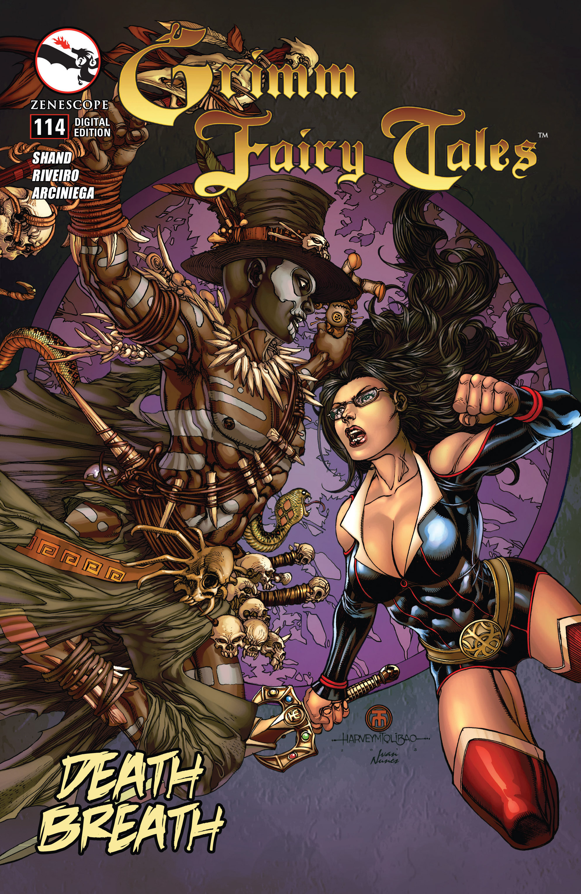 Grimm Fairy Tales (2005) Issue #114 #117 - English 1
