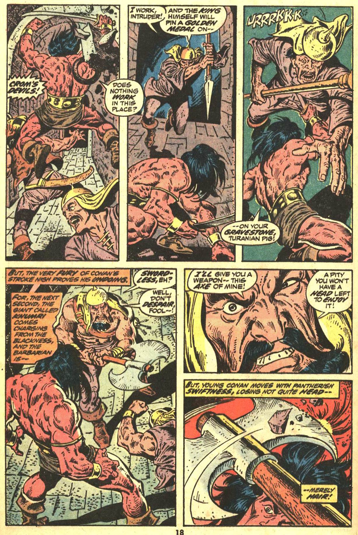 Conan the Barbarian (1970) Issue #29 #41 - English 14