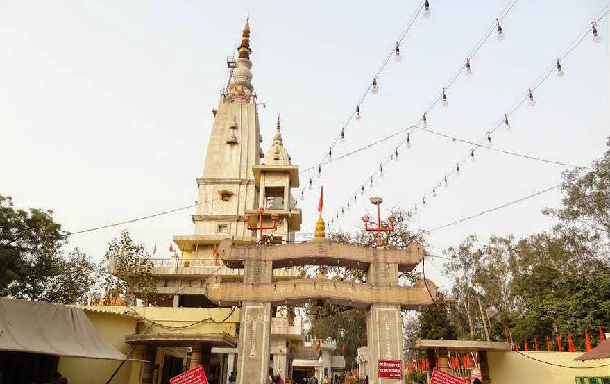 Kali Paltan Mandir (presently called Baba Augharnath Temple) in Meerut