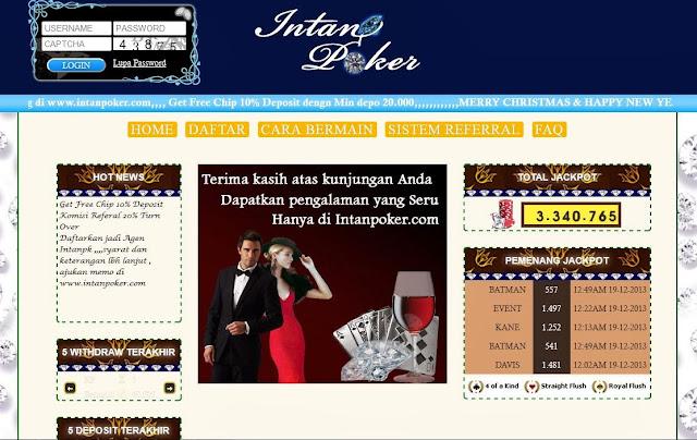 Daftar Poker Online Uang Asli IntanPoker.com