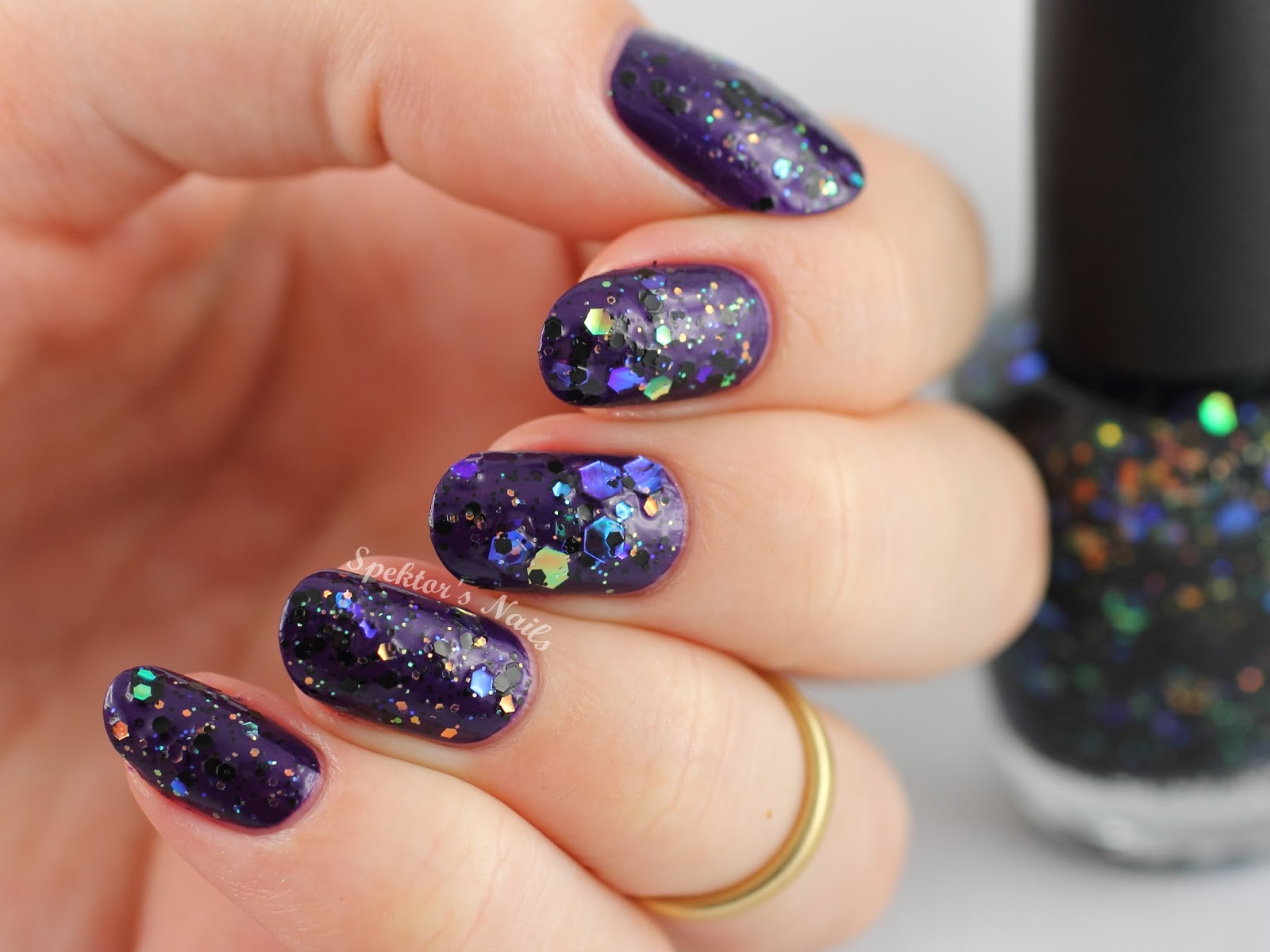 OPI Holiday 2014 Comet in the Sky