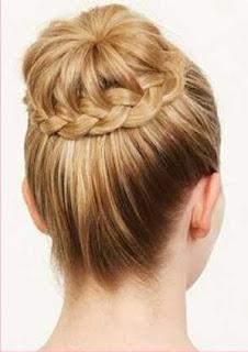 kepangan rambut sanggul