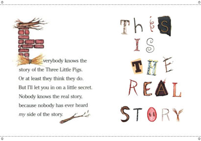 the real story of the 3 little pigs pdf