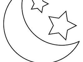 Sun Moon Coloring Pages Adult