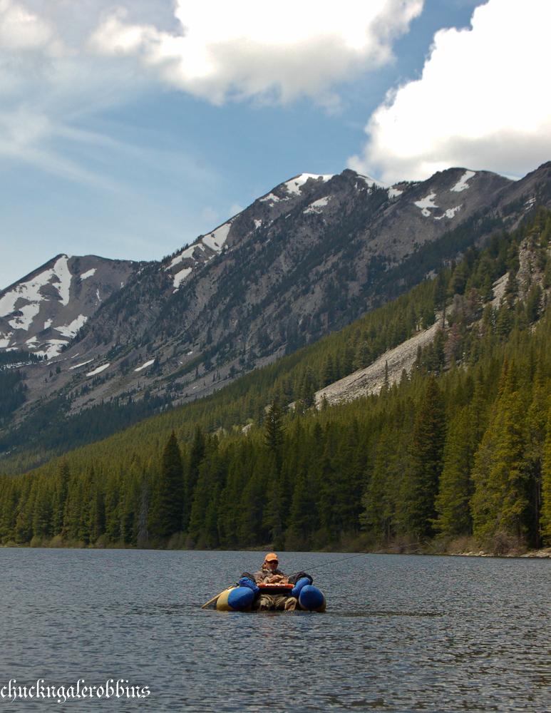 Chuck robbins outdoors fly fishing montana backcountry for Backcountry fly fishing