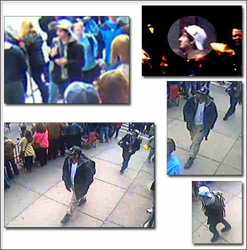 boston marathon bombing suspects pictures