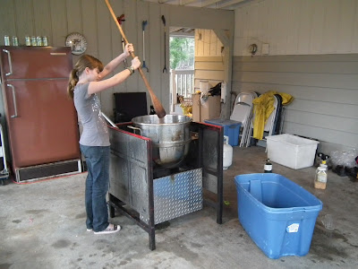 Dorrel and Stephanie: Kettle Corn Machine for the Dicksons
