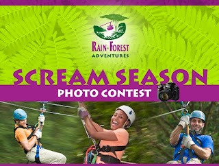 Rainforest Adventures Scream Season Photo Contest