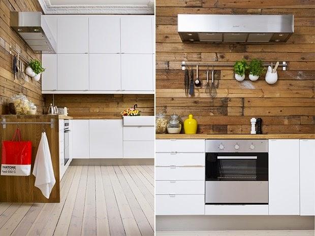 cocina rústica-moderna