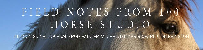 Field Notes from 100 Horse Studio