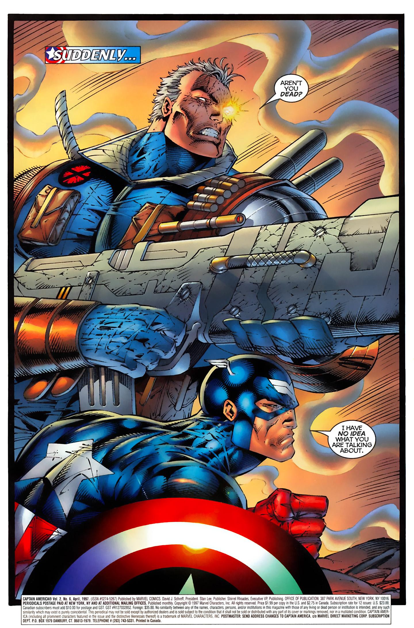 Captain America (1996) Issue #6 #6 - English 2